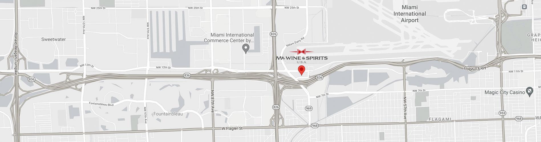 map - Mrwine and Spirits